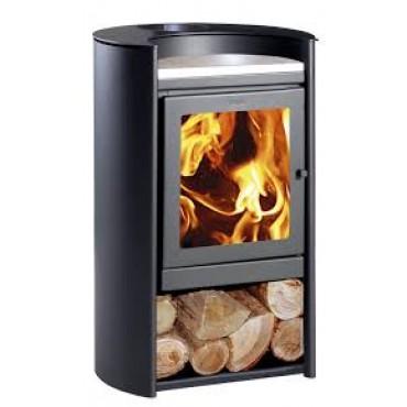 Ενεργειακή σόμπα ξύλου καλοριφέρ Amesti Rondo 490 Boiler για χώρους 80-190 τ.μ.