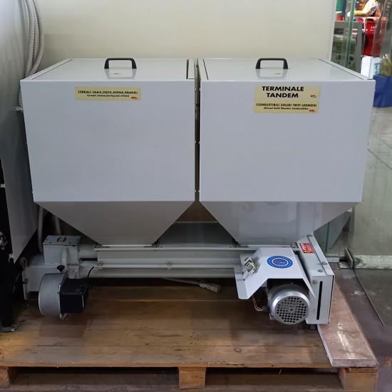 Λέβητας βιομάζας - πέλλετ DCM TANDEM 40.7 KW