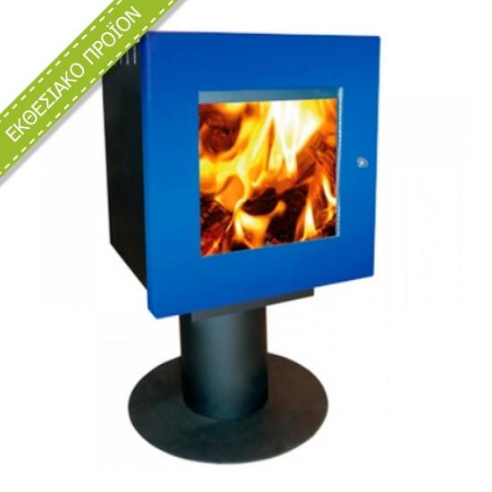 Ενεργειακή σόμπα ξύλου Amesti Cubic 10.45 kw για χώρους 50-150τ.μ.