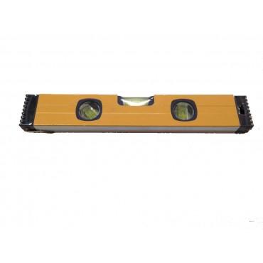 Αλφάδι αλουμινίου 30cm με 3 μάτια