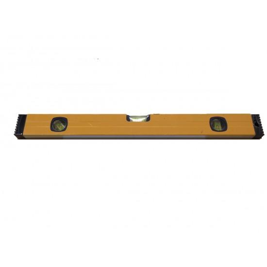Αλφάδι αλουμινίου 50cm με 3 μάτια