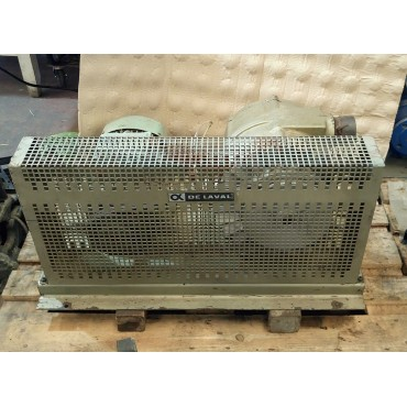 Αντλία κενού Delaval VP78 μεταχειρισμένη με κινητήρα 4 Hp