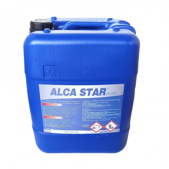 Αλκαλικό χλωριωμένο καθαριστικό ALCA STAR plus 20 kg για αρμεκτικά συστήματα