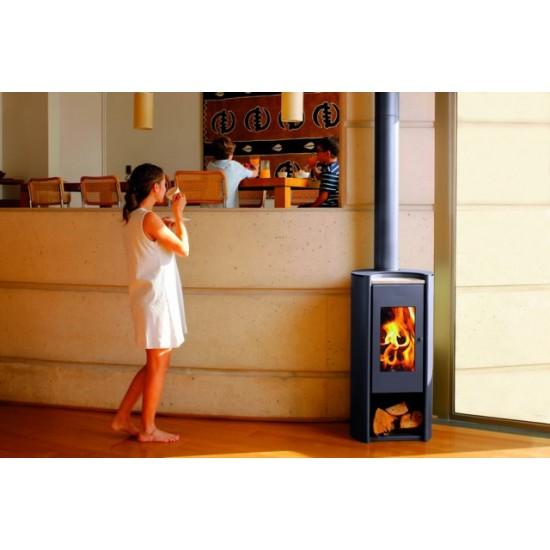 Ενεργειακή σόμπα ξύλου Amesti Rondo 450 Design για χώρους 50-175τ.μ.
