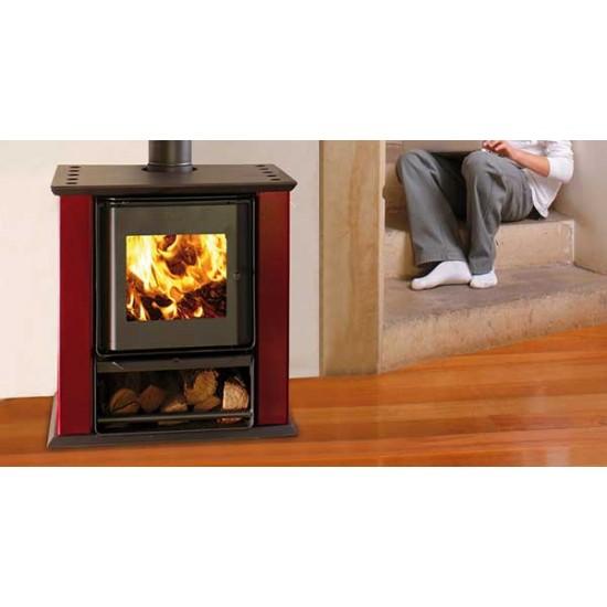 Ενεργειακή σόμπα ξύλου Amesti Classic 400 10 KW για χώρους 50-174 τ.μ.