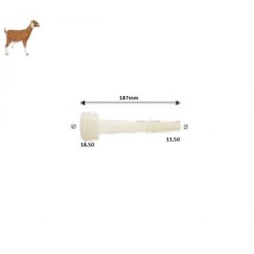 Θήλαστρο σιλικόνης για κατσίκες 18,5mm HM-104219