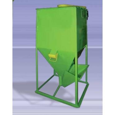 Αναμεικτήρας τριφασικός τετράγωνος 3hp 700kgr