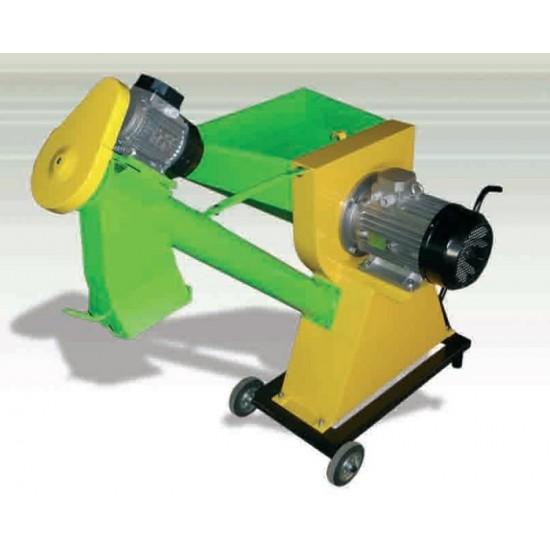 Σφυρόμυλος 4hp με κοχλιομεταφορέα 1hp Τριφασικός με απόδοση έως 850kgr/ώρα