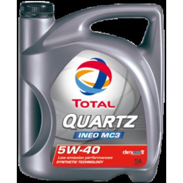 Συνθετικό λάδι κινητήρα Total Quartz Ineo MC3 LIfe 5W-40 5L