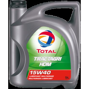 ΗμιΣυνθετικό λάδι κινητήρα TOTAL TRACTAGRI HDM 15W40 5lt