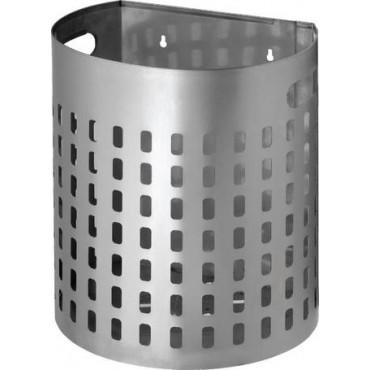 Ανοξείδωτο καλάθι απορριμμάτων Nieros PK