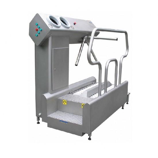 Γραμμή εισόδου εξόδου σε χώρους παραγωγής Nieros Hygicontrol URK