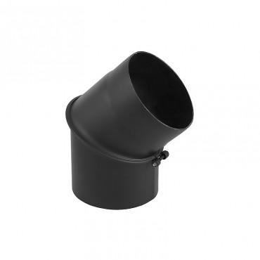 Ρυθμιζόμενη γωνία 2mm μαύρου χάλυβα 45 μοιρών Φ150