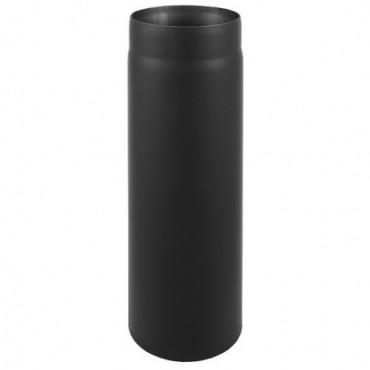 Καπνοδόχος μαύρου χάλυβα 0.5m Φ150 πάχους 2mm για τζάκια και σόμπες