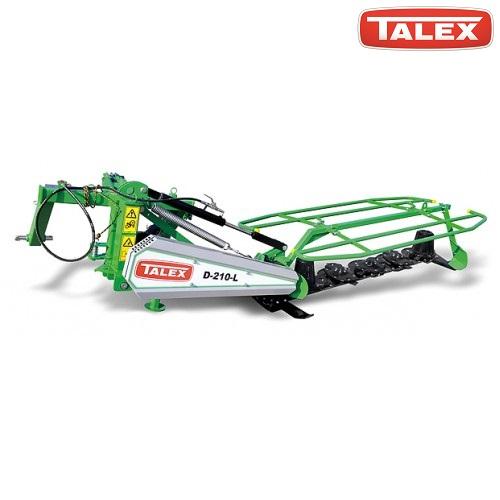Χορτοκοπτικό για τρακτέρ TALEX 5 δίσκων - 10 μαχαίρια 2,10m Opti Cut 210 Z302