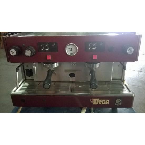 Μηχανή Espresso WEGA ANZOLA EVD/2GR μεταχειρισμένη
