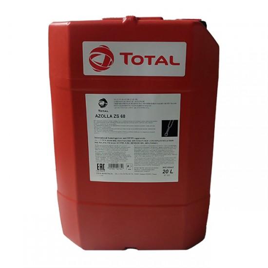 Λάδι υδραυλικών συστημάτων TOTAL AZOLLA ZS 68 20lt