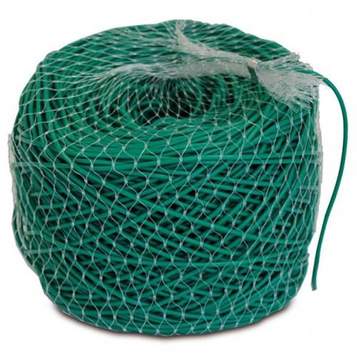Ελαστικό σωληνωτό κορδόνι από μαλακό PVC 4mm - σκούρο πράσινο