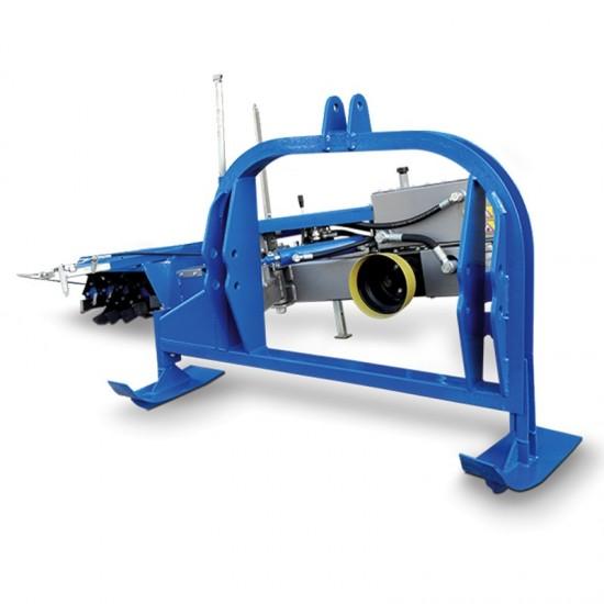 Αμπελουργικό υδραυλικό φρεζάκι GIEMME FZ 55 για τρακτέρ από 40hp