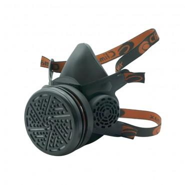 Μάσκα προστασίας αναπνοής Climax 745 μισού προσώπου  με 1 φίλτρο A1P3 RD