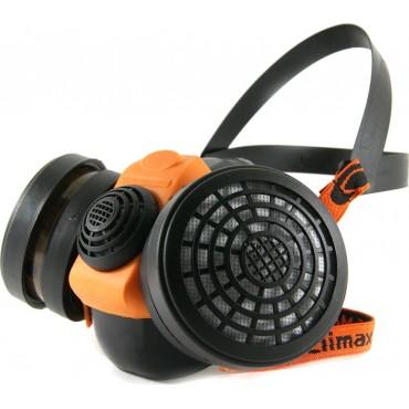 Μάσκα προστασίας αναπνοής Climax 756 μισού προσώπου  με 2 φίλτρα A1