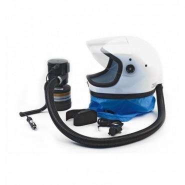 Κάσκα προστασίας για ψεκασμούς KASCO K80S-T9 με ένα φίλτρο ZA2P3