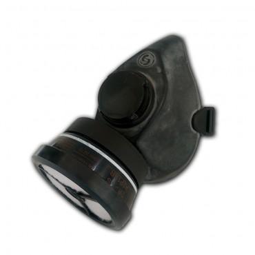 Μάσκα προστασίας αναπνοής SEKUR POLIMASK T50 μισού προσώπου με φίλτρο SEKUR 200