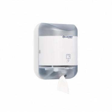 Συσκευή χαρτιού L-ONE MINIγια διανομή ρολού φύλλο-φύλλο LUCART