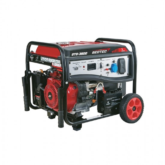 Γεννήτρια βενζίνης μονοφασική GEOTEC GTG-2500