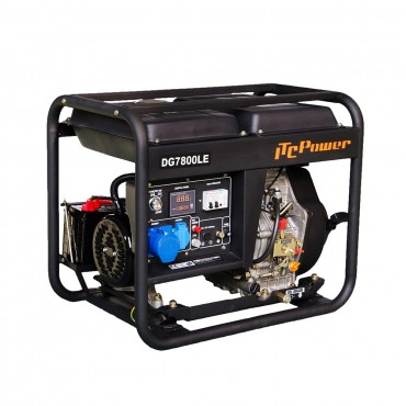 Γεννήτρια πετρελαίου ITC Power DG7800LE 6,5kW