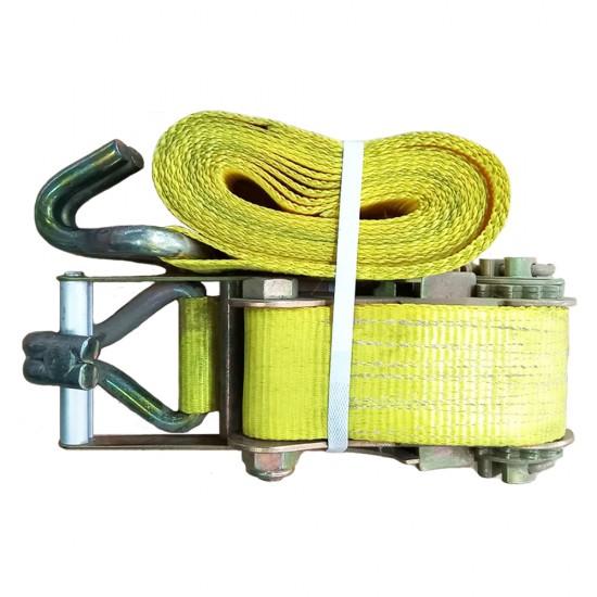 Ιμάντας πρόσδεσης-ανύψωσης 4m υπερβαρέως τύπου με καστάνια και γάντζο
