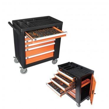 Επαγγελματικός εργαλειοφόρος  KENDO 90335 με 146 εργαλεία