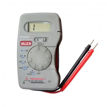 Ψηφιακό πολύμετρο Valex P5000