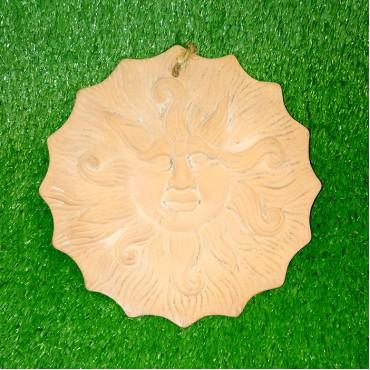 Πήλινο διακοσμητικό ήλιος