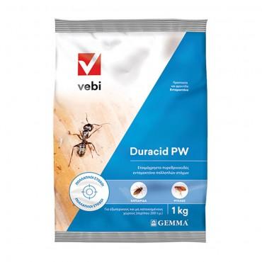 Εντομοκτόνο σε σκόνη Duracid PW 1kg
