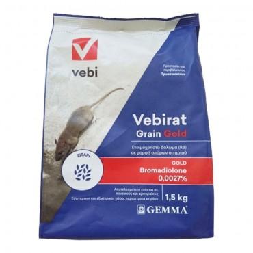 Ποντικοφάρμακο σε μορφή σιταριού Vebirat Grain 1.5kg