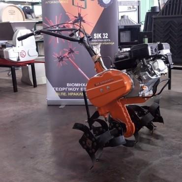 Σκαπτικό MSA Mini με κινητήρα Basepower 6,5hp