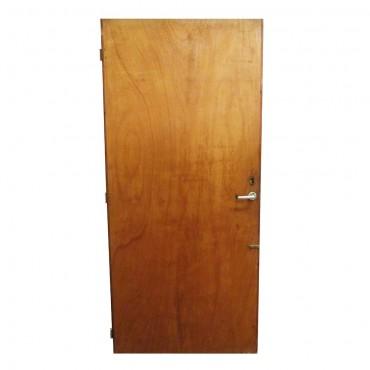 Πόρτα ξύλινη καφέ (μεταχειρισμένη)