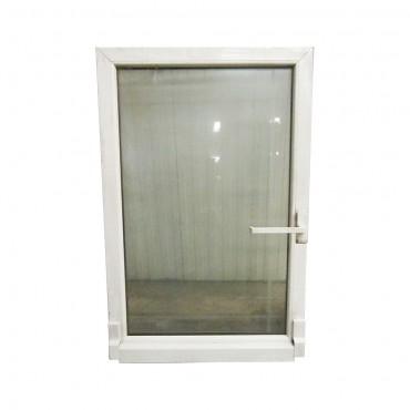 Παράθυρο αλουμινίου λευκό ανοιγόμενο