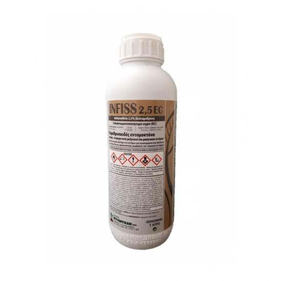 Εντομοκτόνο INFISS 2.5 EC (Delatmethrin 2.5%) 500ml