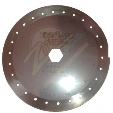 Δίσκος καλαμποκιού 26*4,5Gaspardo G10121410R