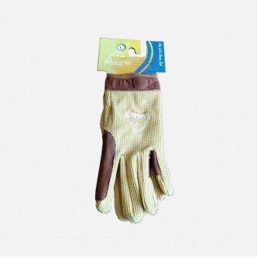 Γάντια ιππασίας συνδυασμός ύφασμα-δέρμα HORSETECH ΗΤ-2353