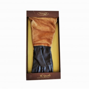 Γάντια ιππασίας TGL-9602 δέρμα με σουέντ