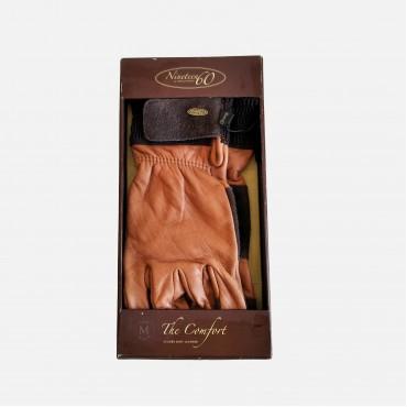 Γάντια ιππασίας TGL-9607 δέρμα με σουέντ