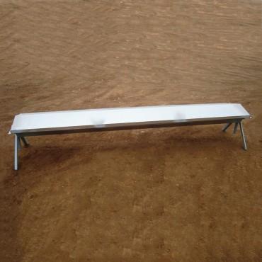 Ταΐστρα εριφίων με σκέπαστρο τρίγωνο 1.25 m