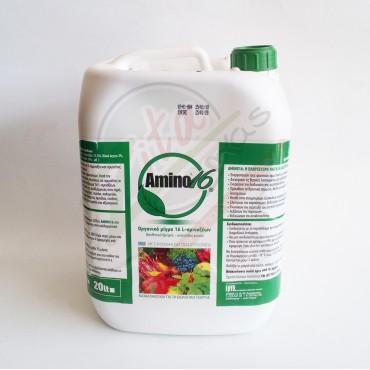 Υγρό λίπασμα AMINO16 L-αμινοξέων 5Lt