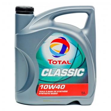 Συνθετικό λάδι κινητήρα TOTAL CLASSIC 10W40 4lt