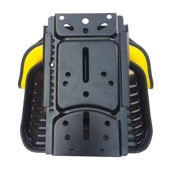 Κάθισμα τρακτέρ με μπράτσα και γλυσιέρα YZ-10.AK (κίτρινο)