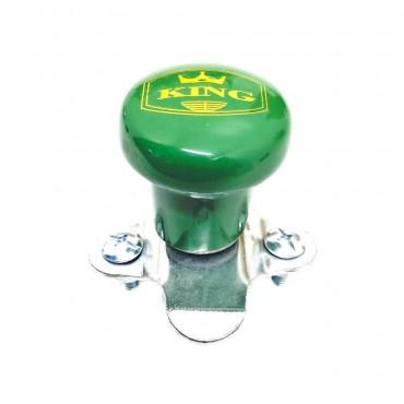 Πόμολο τιμονιού βαρέως τύπου με πράσινη λαβή