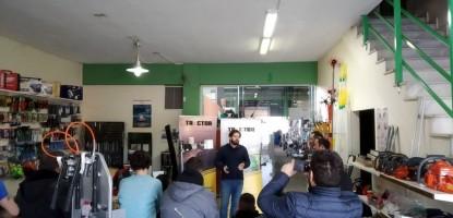 Έναρξη συνεργασίας του Zita mas με την Tractor Gps
